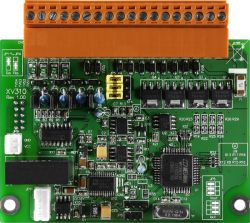 Multifunction (4 AI, 2 AO, 4 DI, 4 DO) Expansion Board. Modbus/RTU Protocol. 120 VDC Overvoltage Protection for Voltage Input, with operating temperatures of -25°C ~ +75°C (-13°F ~ 167°F)