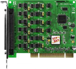 Universal PCI, 96-channel Digital Input/Out board. Supports +5V PCI bus for PIO-D96. Connects directly to DB-24PR, DB-24PD, DB-24RD, DB-24PRD, DB-16P8R, DB-24POR, DB-24SSR, DB-24C or any OPTO-22 Compatible daughter boardsBi-direction programmable I/O port. Has an operating temperature of 0°C ~ 60°C (+32°F ~ +140°F)