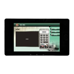 Smart Building Controller with 10.1'' Touch Screen, Intercom, 2-way Video Conferencing, Access Control, Notifications, Security Alarms, and MQTT Messaging.