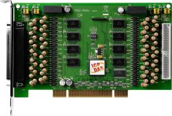 Universal PCI, 32-channel isolated analog input board. (RoHS) Includes one DB-8325 screw terminal board.