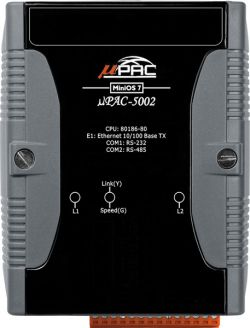 The μPAC-5XX1 series is an enhanced version of μPAC-7186EX. It provides C tool kits for C programmer.