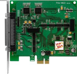 PCI Express, 200 kS/s High-speed, 16-bit 8/16-channel Simultaneously Sampled Analog Input Board with 4/12-channel Isolated DIO