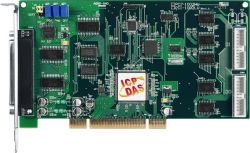 Universal PCI, 32-ch, 12-bit, 110 kS/s or 44 kS/s Multi-function Board. 16 digital input/16 digital output channels.
