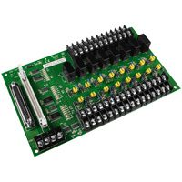 16 Channel Opto-Isolated Digital Input Board.  DB-16P8R is also an 8 Channel Relay Output Board. Includes CA-5015 (50-pin Flat Cable 1.5m)