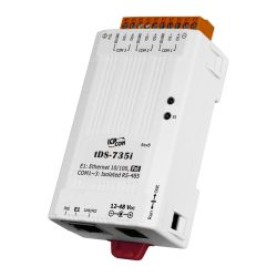 Tiny Serial-to-Ethernet Device Server with PoE, and <b>3 Isolated RS-485 Ports</b> (RoHS)