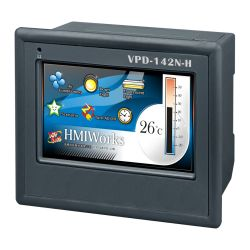 "4.3"" Touch HMI device with RS-232/RS-485, USB, RTC, supports XV-board"