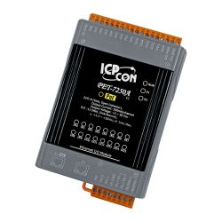 PoE Ethernet I/O Module with 2-port Ethernet Switch, with 12-channel Digital Input, 6-channel Digital Output (RoHS)