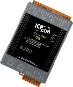 Ethernet I/O Module with 4-/8-channel Counter/Frequency/Encoder Input and 4-channel DO with PoE