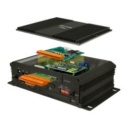 Industrial fanless embedded Box PC with Intel Atom E3845 CPU