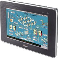 10.4'' Touch Screen (800 x 600) resistive touch panel monitor with RS-232 or USB interface, includes VGA cable, RS-232 cable, USB cable, Mounting clamps and screws. Supports IP65 standard for protection against dust and water. <span style=''color:red''>No Power Supply Included</span>