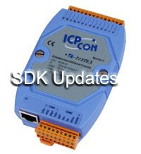 uPAC-7186 and I-7188 SDK Update Library