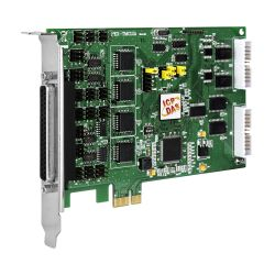 PCI Express, 12-channel Timer/Counter Board (RoHS) Includes one CA-4002 D-Sub connector.