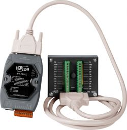 10-channel Thermocouple Input Module with DN-1822 Daughter Board and a 1.8 m Cable (RoHS)