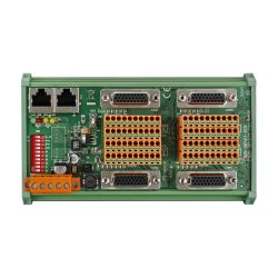 Distributed Motionnet Four-axis Universal Motion Control Module with RJ-45 Connector. Includes 4x