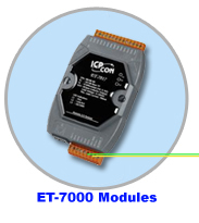 ET-7000 Ethernet I/O Modules