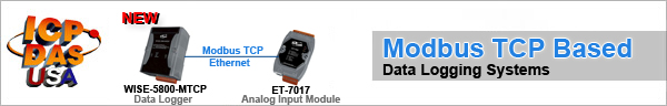 Modbus TCP Based Data Logging Systems